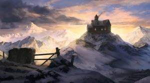 winter_cottage_by_Juan Carlos Barquet