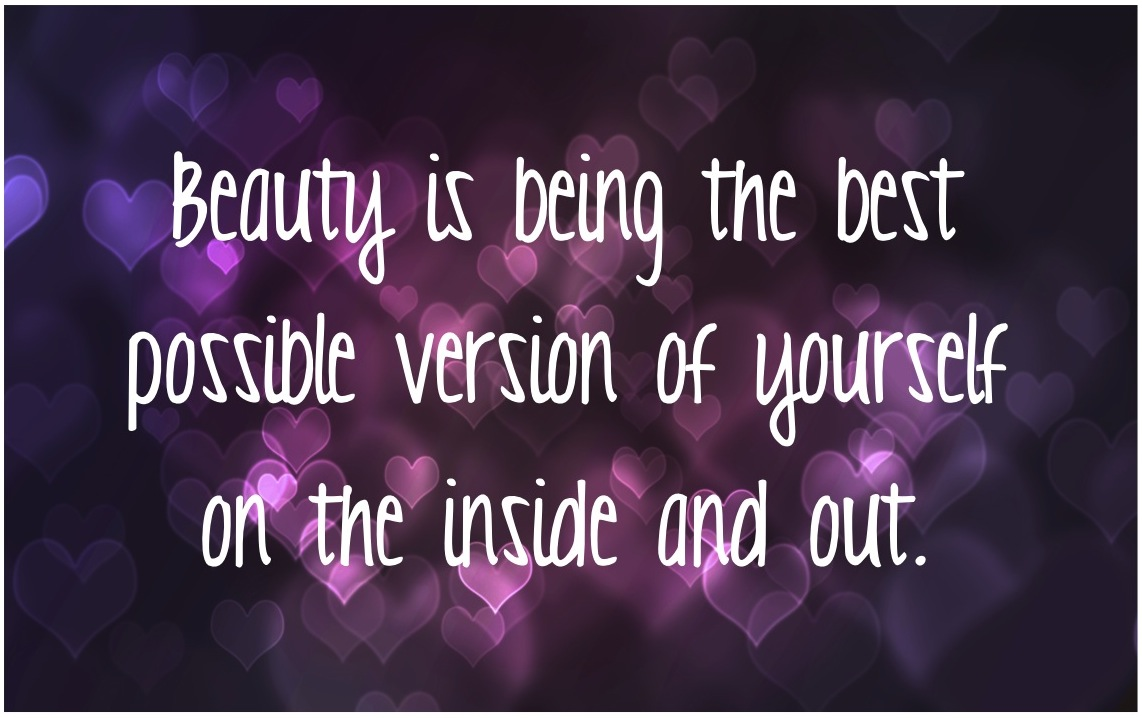 Being You…