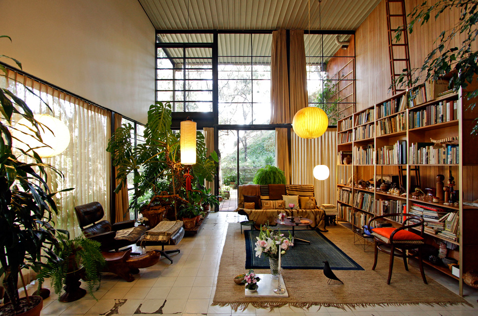 The Home of a Lifelong Partnership: The Eames House
