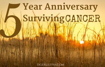 5 Year Anniversary Surviving Pediatric Cancer