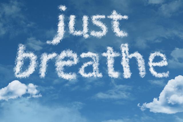 Motivation Monday: Just Breathe