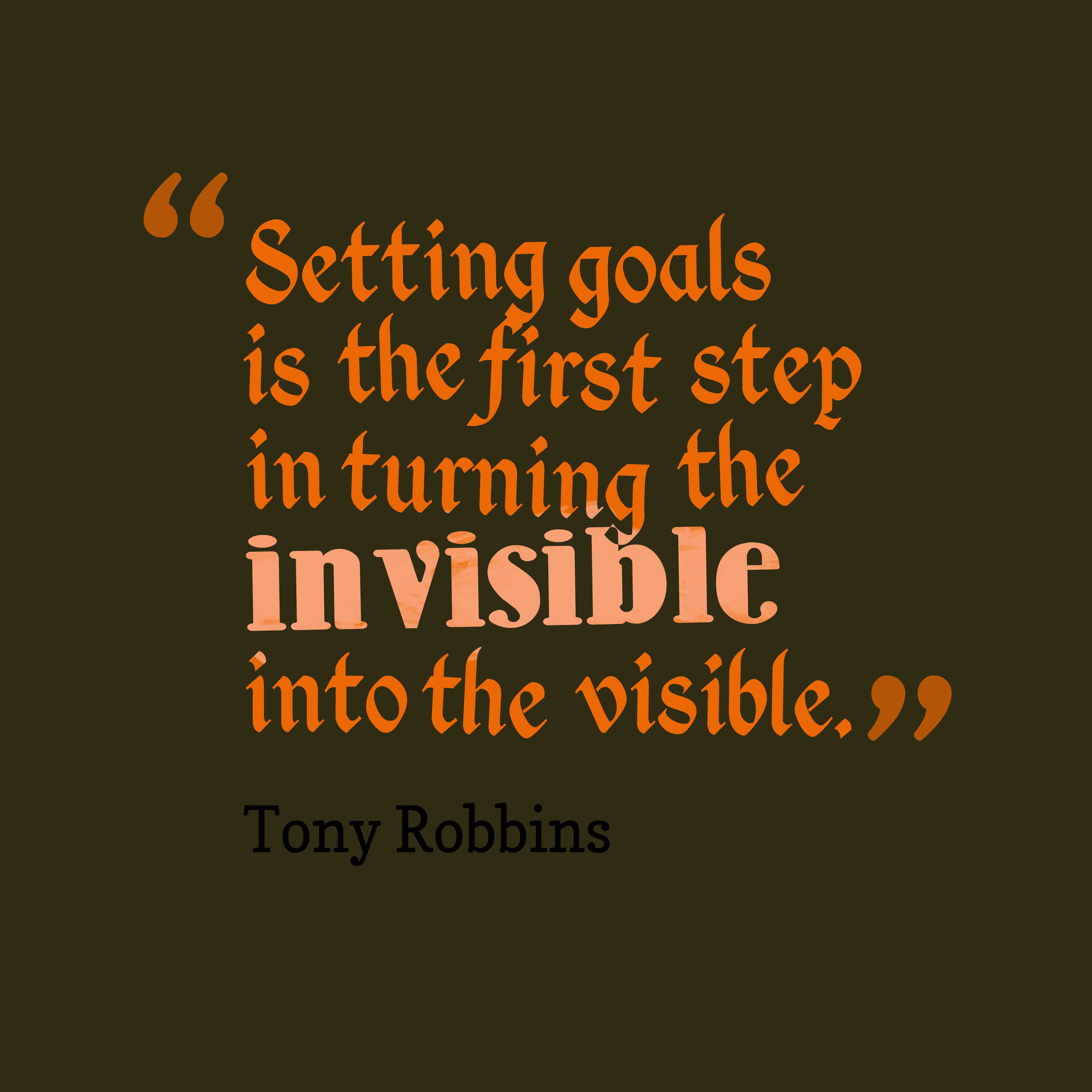 Motivation Monday: Setting Goals