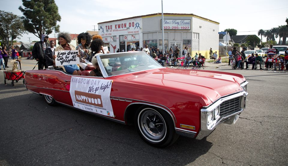 """Remembering the Beauty of Naturals"" Shared a Message of Hope at the Kingdom  Day Parade"