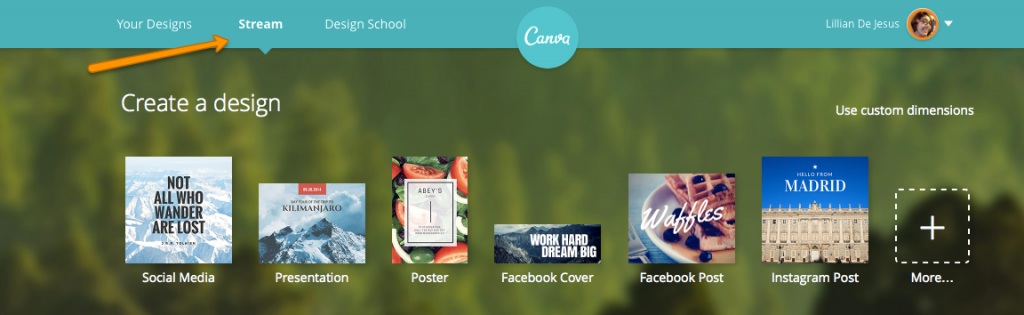 Canva Stream