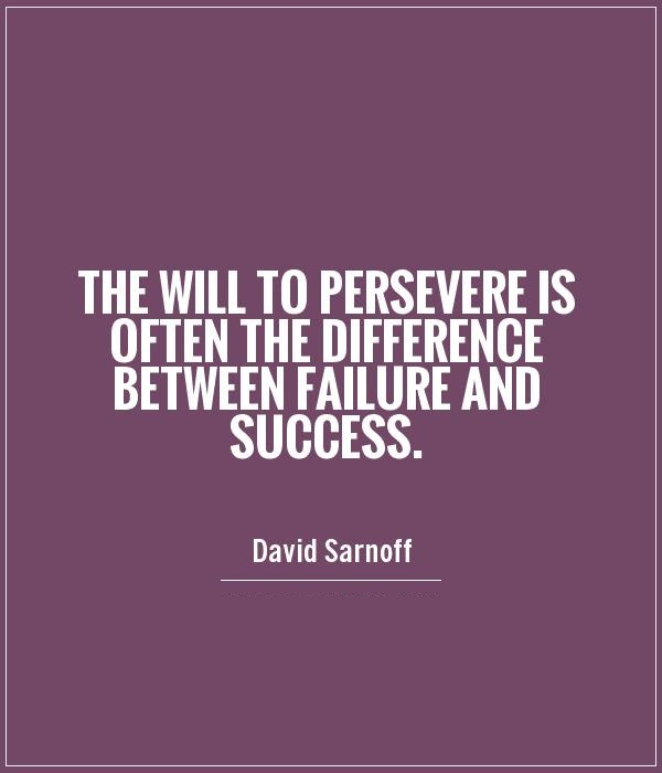 Motivation Monday: The Will to Persevere