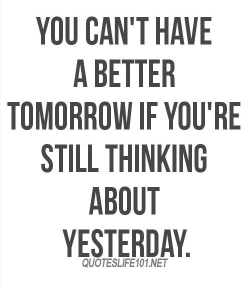 Motivation Monday: Better Tomorrow!