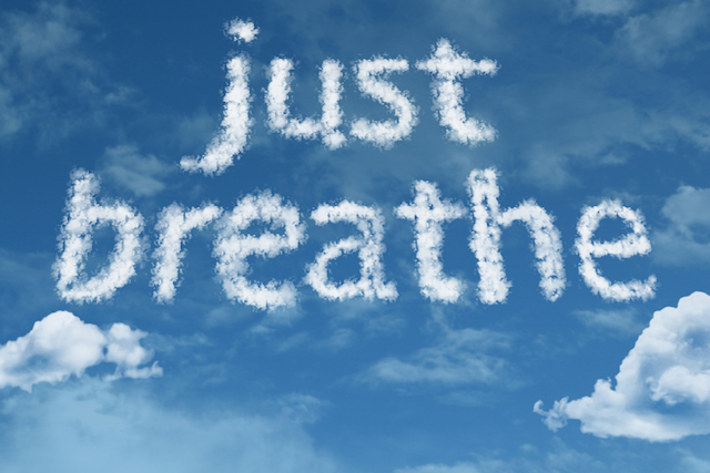 Motivation Monday: Just Breathe