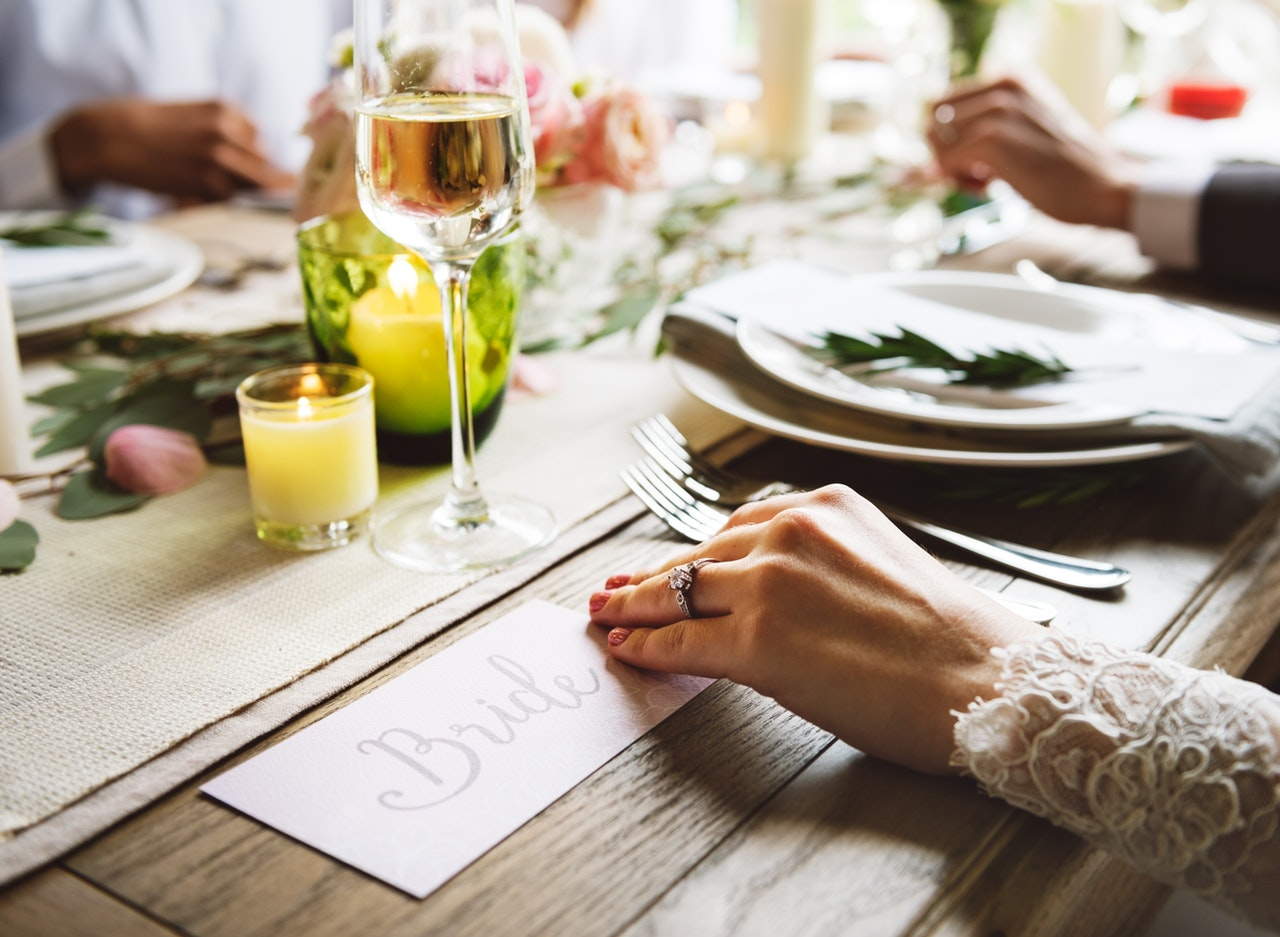 5 Tips for Choosing Your Wedding Menu