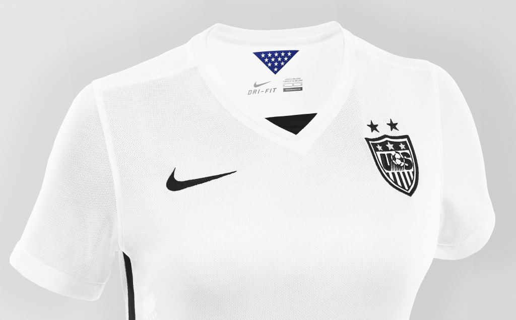 Nike is releasing its US women's soccer jerseys in men's sizes for the first time ever – Quartz