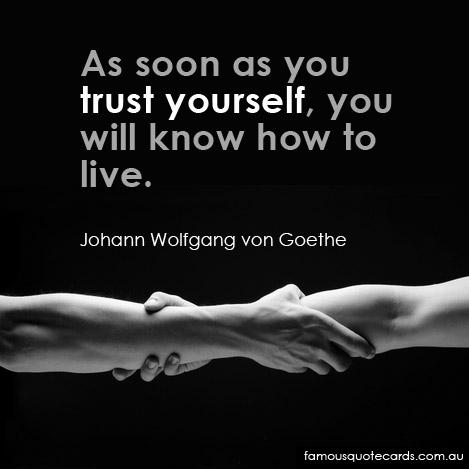 Motivation Monday: Trust Yourself